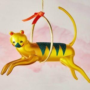 De Carlini Tiger Circus Christmas Ornament